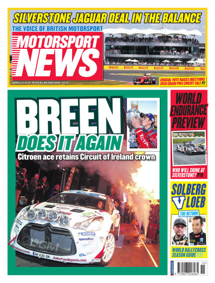 Motorsport News April 13, 2016 00:00