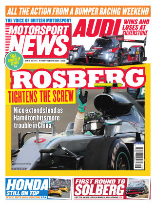 Motorsport News 20th April 2016