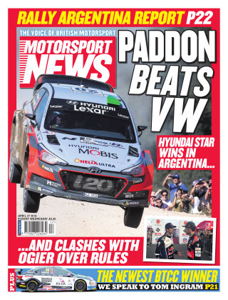Motorsport News 27th April 2016
