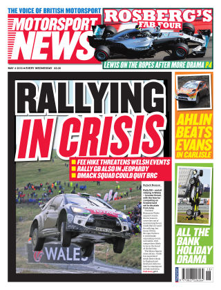 Motorsport News 4th May 2016