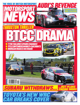 Motorsport News 11th May 2016