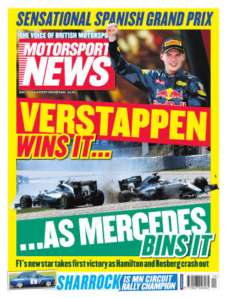 Motorsport News 18th May 2016