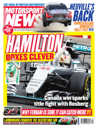 Motorsport News 15th June 2016