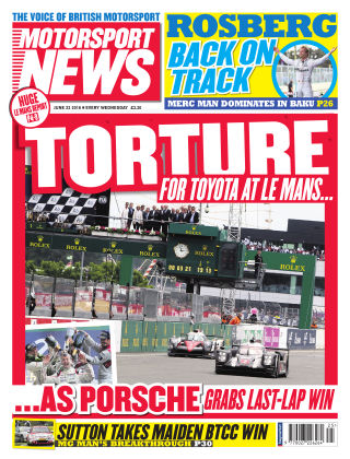 Motorsport News 22nd June 2016