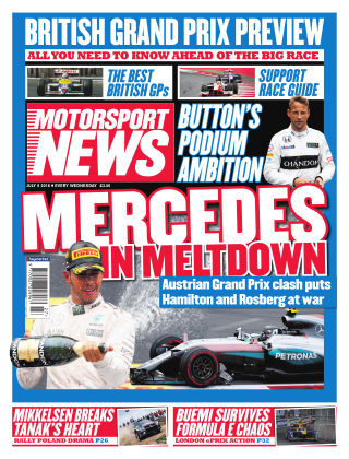 Motorsport News 6th July 2016