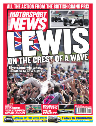Motorsport News 13th July 2016