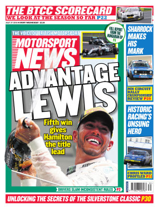 Motorsport News 27th July 2016