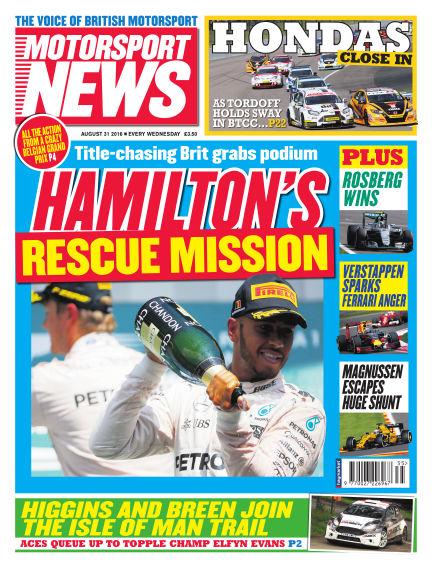 Motorsport News August 31, 2016 00:00