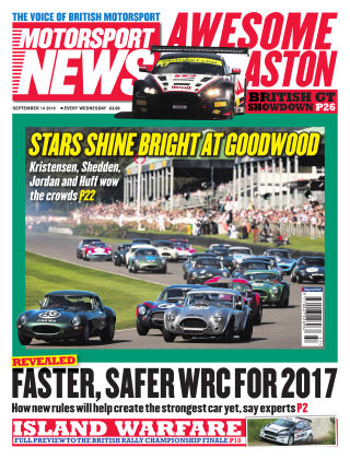 Motorsport News 14th September 2016