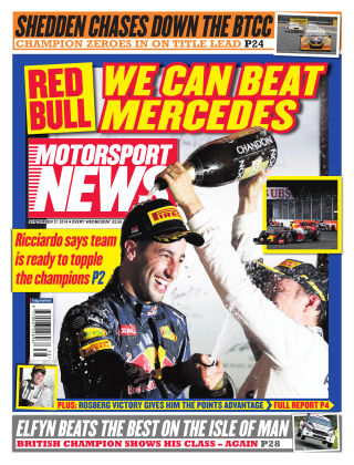 Motorsport News 21st September 2016
