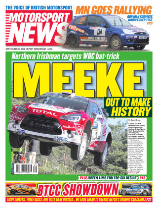 Motorsport News 28th September 2016