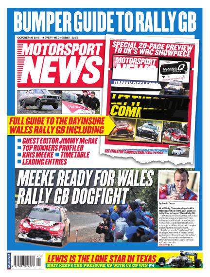 Motorsport News October 26, 2016 00:00