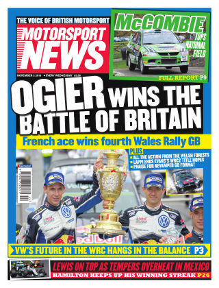 Motorsport News 2nd November 2016
