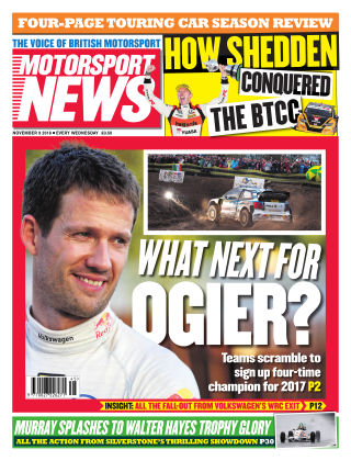Motorsport News 9th November 2016