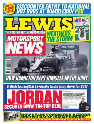 Motorsport News 16th November 2016