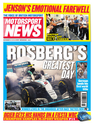 Motorsport News 30th November 2016