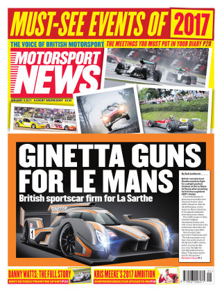 Motorsport News 4th January 2017