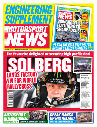 Motorsport News 11th January 2017