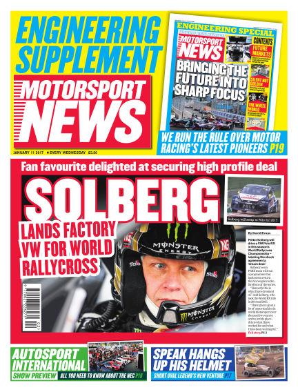 Motorsport News January 11, 2017 00:00