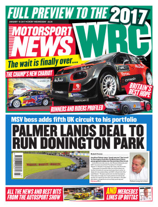 Motorsport News 18th January 2017