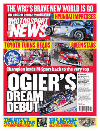 Motorsport News 25th January 2017