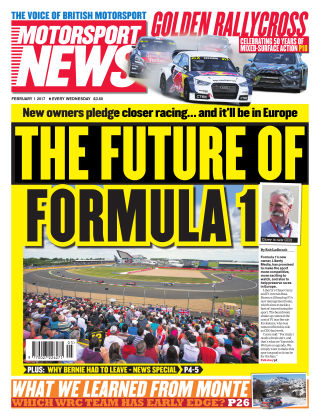 Motorsport News 1st February 2017