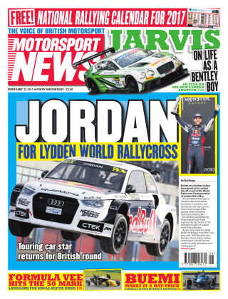 Motorsport News 22nd February 2017