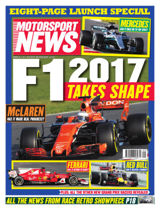 Motorsport News 1st March 2017