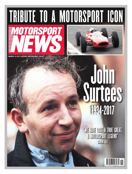 Motorsport News March 15, 2017 00:00