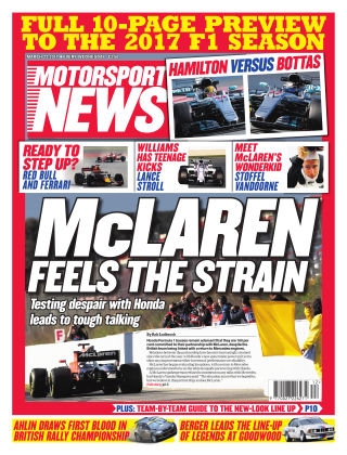 Motorsport News 22nd March 2017