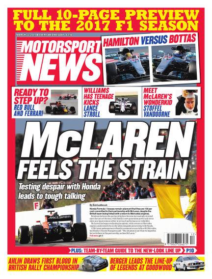 Motorsport News March 22, 2017 00:00