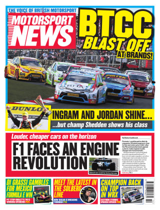 Motorsport News 5th April 2017