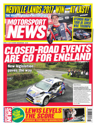 Motorsport News 12th April 2017