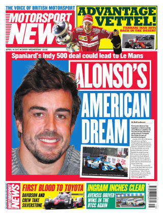 Motorsport News 19th April 2017