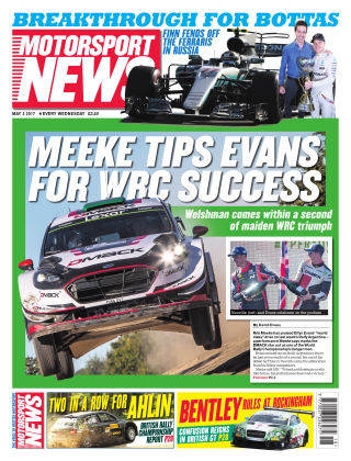 Motorsport News 3rd May 2017