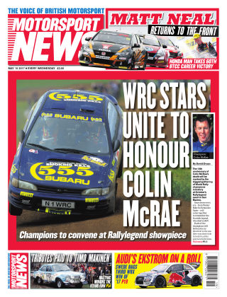 Motorsport News 10th May 2017