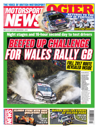Motorsport News 24th May 2017