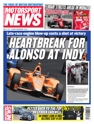 Motorsport News 31st May 2017