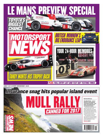 Motorsport News June 07, 2017 00:00