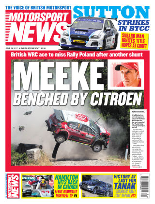 Motorsport News 14th June 2017