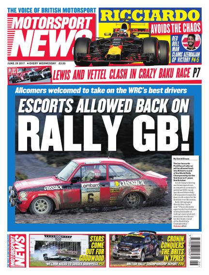 Motorsport News June 28, 2017 00:00