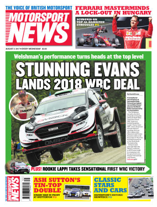 Motorsport News 2nd August 2017