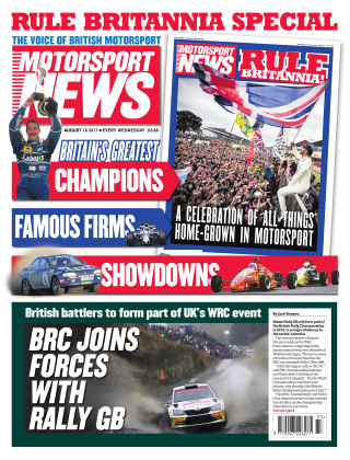 Motorsport News 16th August 2017