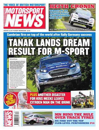 Motorsport News 23rd August 2017