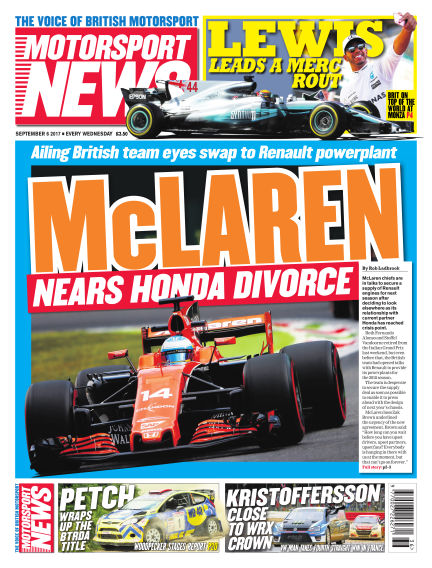 Motorsport News September 06, 2017 00:00