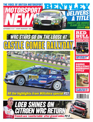 Motorsport News 27th September 2017
