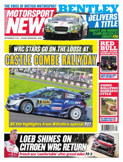 Motorsport News September 27, 2017 00:00