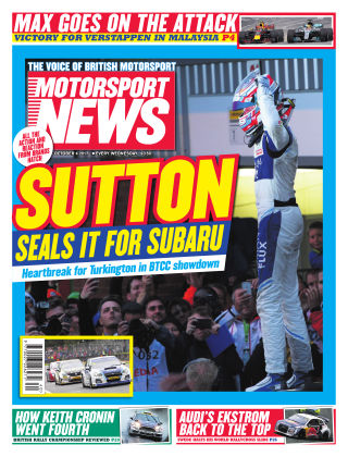 Motorsport News 4th October 2017