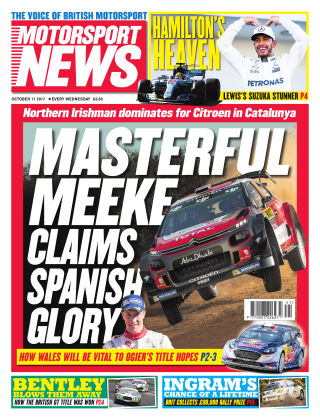 Motorsport News 11th October 2017