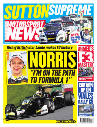 Motorsport News 18th October 2017